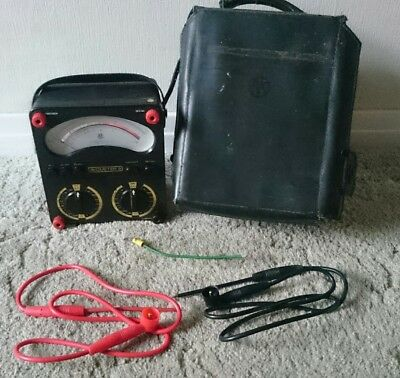 AVOMETER 8 Mk5 MKV with Leads and Case