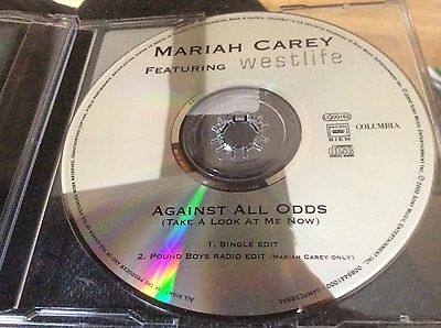 MARIAH CAREY - Against All Odds - UK 2000 Promo Only 2 Track Cd Single.