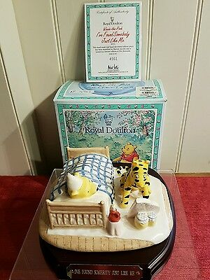Royal Doulton Winnie the Pooh WP22. boxed and certificate. Somebody like me