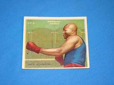 1910 Mecca T218 Champions Boxing Card, JACK JOHNSON (#98)