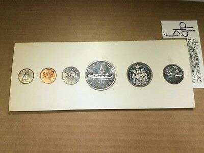 CANADA 1959 6-piece Proof-Like Mint Set Original Cardboard Holder