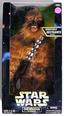 S592. Star Wars CHEWBACCA IN CHAINS Action Figure from Kenner NIB (1998) ~