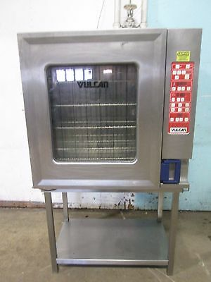 """""""vulcan Vc10Hep"""" Commercial Hd 3Ph Electric Combi Oven - Bakes/steam/dry/combi"""