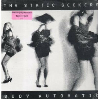 """STATIC SEEKERS Body Automatic 12"""" VINYL US Axis 1990 6 Track B/W Deep Space"""