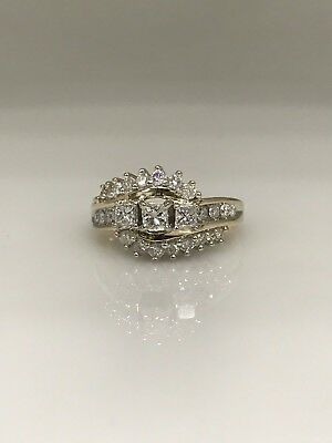 Estate 1.25ctw Diamond Engagement Wedding Ring in 14KYG #5251 CLOSE OUT