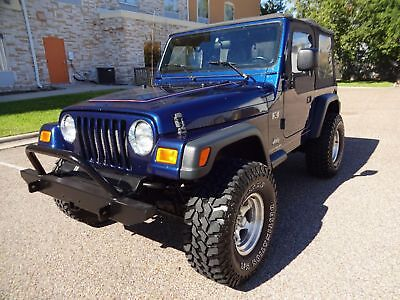 2004 Jeep Wrangler X 2004 Jeep Wrangler X 2dr Softtop 4.0L Inline 6 Engine Super  Nice Wheels & Tires
