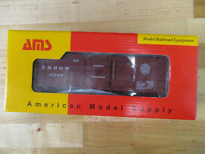 American Model Supply AM52-0133 D&RGW Boxcar Royal Gorge Herald #3297 On3 Scale