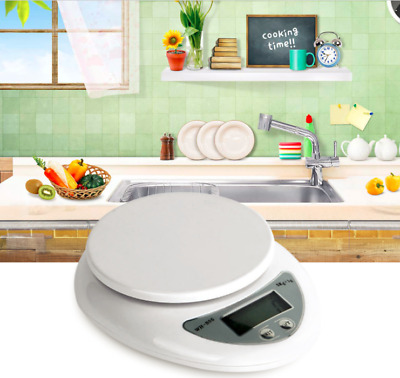 Accurate Digital Household Kitchen scale 5kg Food Diet Postal balance Measuring