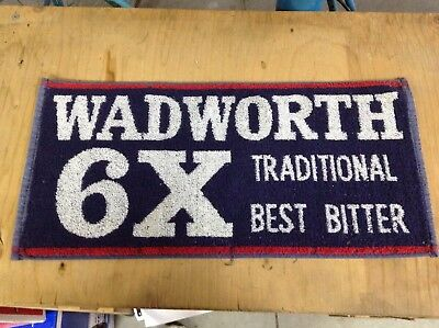 Wadworth 6X - Bar Towel - NEW