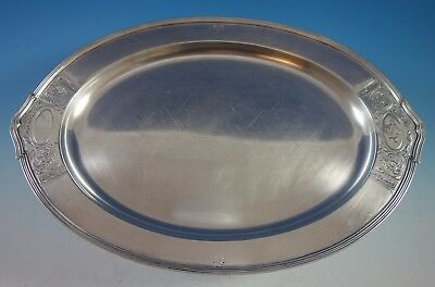 Saint Dunstan Chased by Gorham Sterling Silver Demitasse Tray #A12422/1 (#1927)