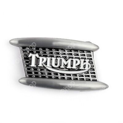 Triumph Union Jack Motorbike Display Belt Buckle Xmas Gift Belts And Buckles