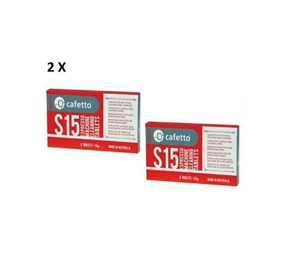 2PK CAFETTO S15 Coffee Machine Cleaning Tablets Suitable for major coffee brands