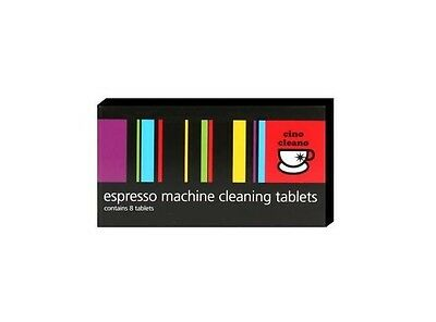 NEW CINO CLEANO CLEANING TABLETS Espresso Coffee Machine Cleaner BEC250