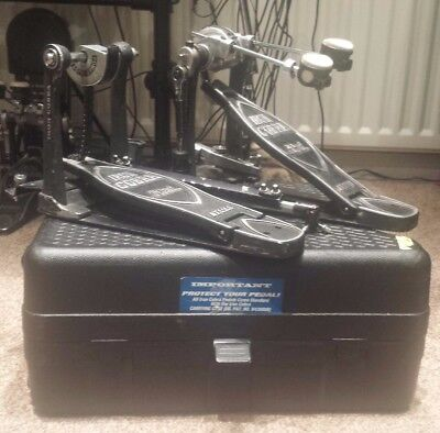 **** Tama Iron Cobra Power Glide Double Bass Drum Pedal & Hard Case  ****