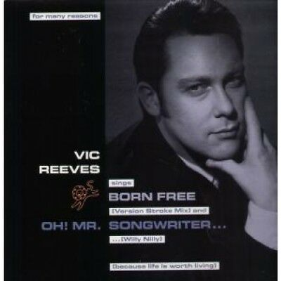 """VIC REEVES AND THE ROMAN NUMERALS Born Free 12"""" VINYL UK Island 1991 3 Track"""