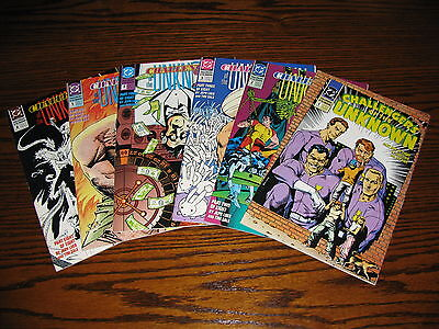DC - CHALLENGERS of the UNKNOWN 1,2,3,4,5,8 Comic Lot!!  1991 VF