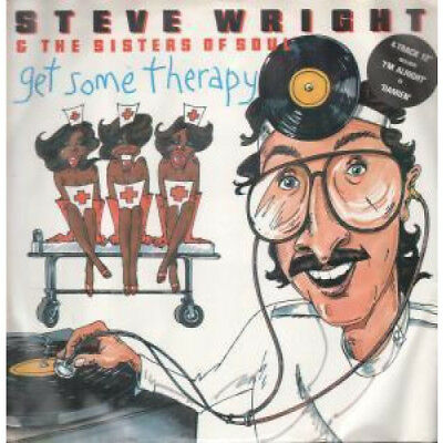 """STEVE WRIGHT AND THE SISTERS OF SOUL Get Some Therapy 12"""" VINYL UK Rca 1983 4"""