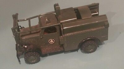 Yorkshire Company  Bell System metal toy telephone truck 1985 Dodge for parts.