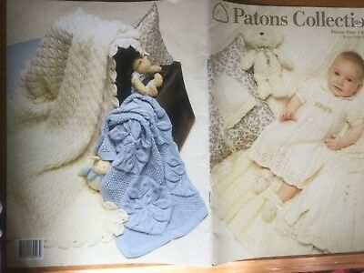 Patons Collection knitting patterns for babies