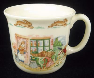 Royal Doulton Bunnykins Vegetable Stand Cup/Mug