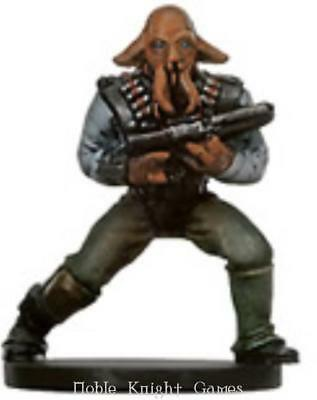 WOTC Star Wars Minis Bounty Hunter Quarren Bounty Hunter NM