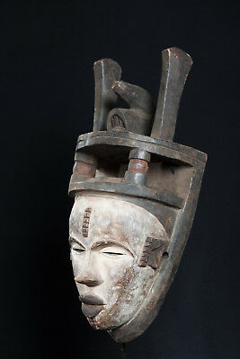 Cross River Style Mask, Nigeria, African Tribal Arts, African Masks