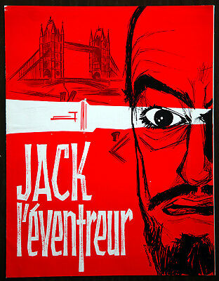 jack l'eventreur jack the ripper horreur 6 pages PERFECT  thriller 1960