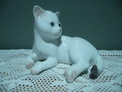 Bing & Grondahl Vintage Figurine - Seal Point Kitten - Denmark - Vgc