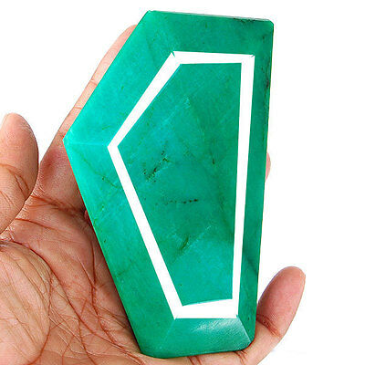 2298 Cts Certified Natural Brazilian Emerald Supreme Green Museum Size Gemstone