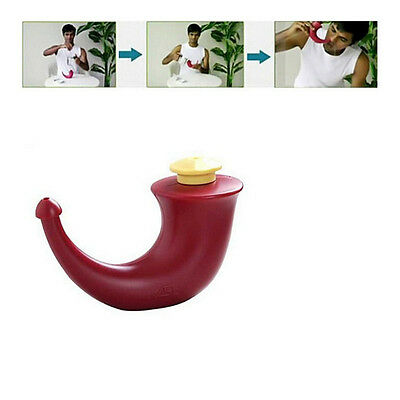 Useful Yoga Nasal Plastic Neti Pot Sinu-cleanse Clean Sinuses Nose Washing Pot