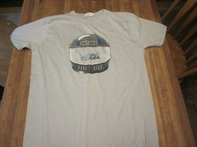 Vintage Ski-Doo Snowmobile T-shirt late 80's Bobardier Official Dealer Shirt wow