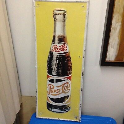 Very Rare Pepsi Tin Sign