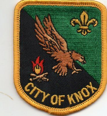 Victoria Scout Badge    City Of Knox