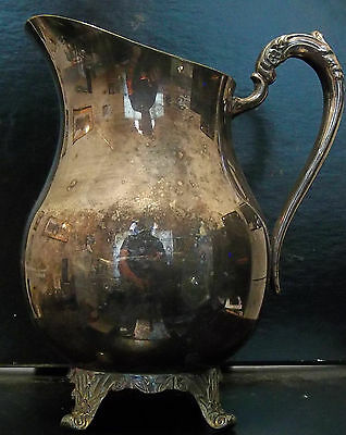 Vintage Silver Plated FB Rogers Water Pitcher