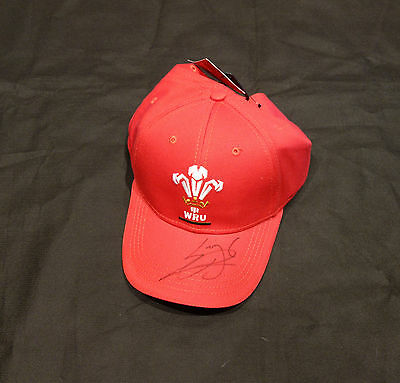 Leigh Halfpenny Signed Wales Rugby Union Cap with COA