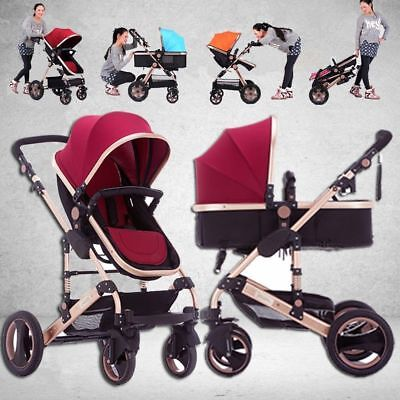 Baby Joddger Stroller Newborn Carriage Infant Travel Car Foldable Pram Pushchair