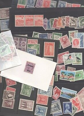 Australia & Territories Stamp Collection - 4 pages - MINT