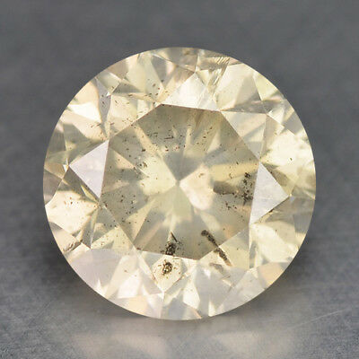 0.71 Cts WOW SPARKLING FANCY TOP YELLOWISH GRAY NATURAL LOOSE DIAMONDS
