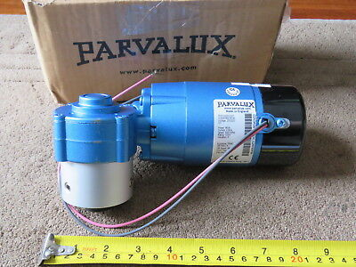 Parvalux Motor PM3-0003 68W 3000rpm with Gearbox Ratio 8 NEW Made in England