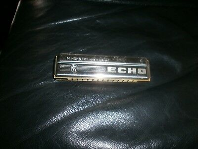 M. Hohner No 2209 Echo 28 (C Key) Tremelo Harmonica (Made in Germany)