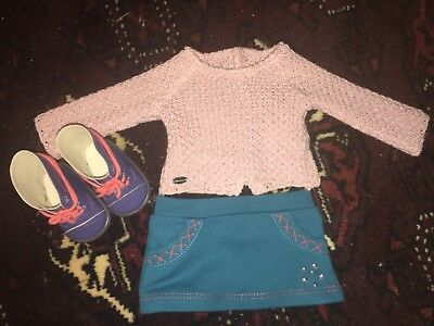 Sparkly Sweater American Girl Doll outfit
