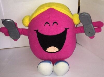 Little Miss - Miss Chatterbox Interactive Soft Toy - Good Condition