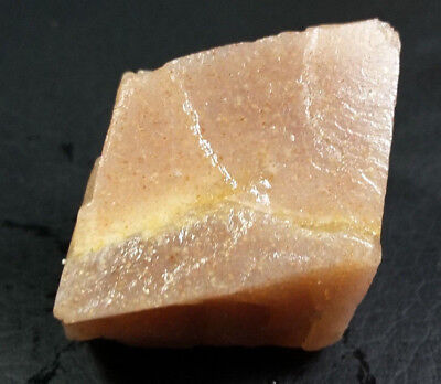 115.00 CRT Natural Rainbow Golden Orange Sunstone Rough Unheated From Tanzania