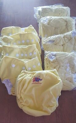 Unisex nappy covers or nappy pockets x 10