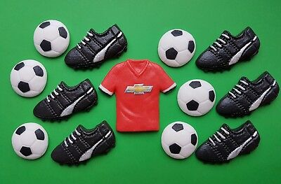 Edible Football Cake Toppers For Manchester United Fan