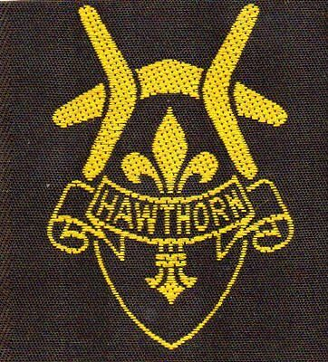 Victoria Scout Badge    Hawthorn