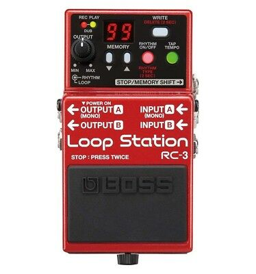 Pédale Loopstation - BOSS RC3