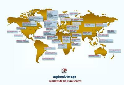 World's best museums interactive map