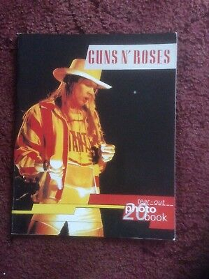 Guns N' Roses Tear-Out 20 Photo Book 1993 Oliver Books
