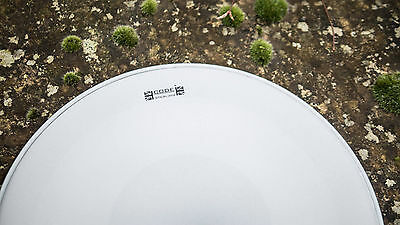 """Snare Drum Head/skin - Code Sterling - 14"""" - Twin Ply Reverse Dot"""